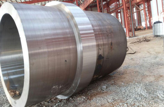 70吨水轮发电机主轴